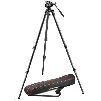 Used Manfrotto 500 Carbon Fibre Video System