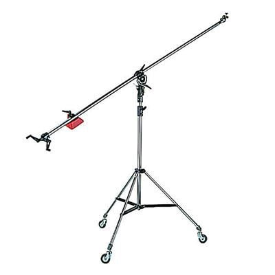 Image of Manfrotto 025BS Superboom Black with Stand