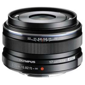 Olympus M.Zuiko Digital 17mm f1.8 Lens- Black