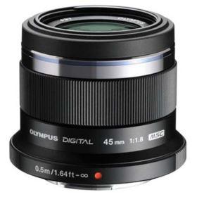 Olympus 45mm f1.8 M.ZUIKO Digital Micro Four Thirds Lens - Black