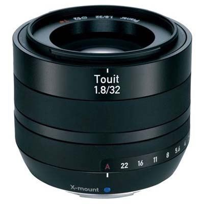 Used Zeiss 32mm f1.8 E Touit Lens - Fujifilm X-Mount Fit