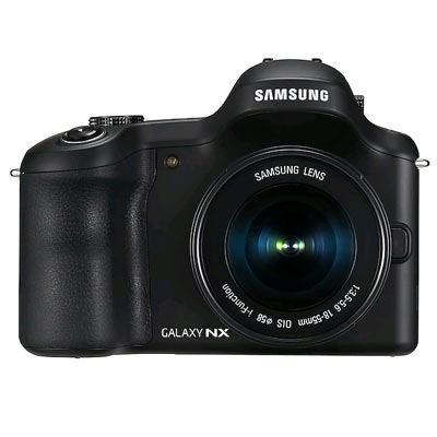 Samsung Galaxy NX Digital Camera Body - Black