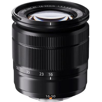Fuji 16-50mm f3.5-5.6 XC OIS Lens - Black