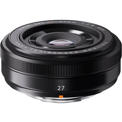Fujifilm 27mm f2.8 XF Lens - Black