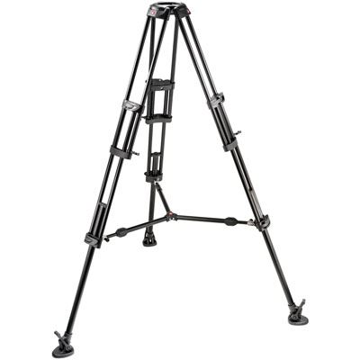 Manfrotto 545B Pro Heavy-Duty Aluminium Video Tripod with Mid-level spreader