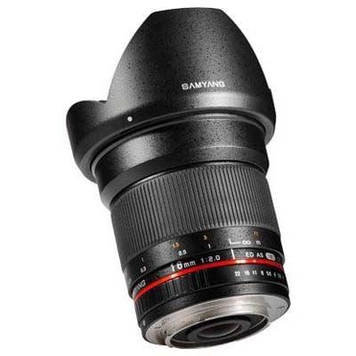 Samyang 16mm f2 ED AS UMC CS Lens - Samsung NX Fit