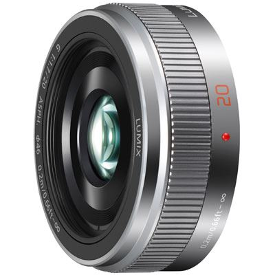 Panasonic 20mm f1.7 LUMIX G II ASPH G Micro Four Thirds Lens  Silver
