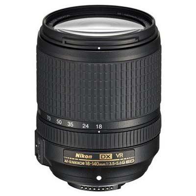 Image of Nikon 18-140mm f3.5-5.6 AF-S G ED VR DX Lens