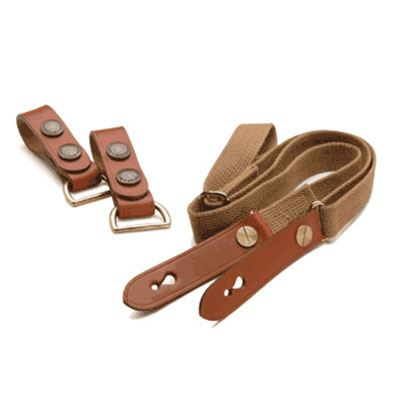 Billingham Waist Strap and Attachment - Khaki/Chocolate