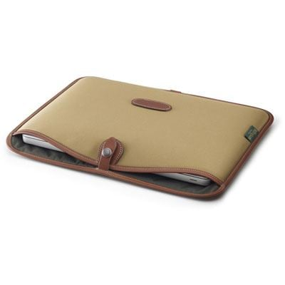 Billingham 13 inch Laptop Slip - Khaki/Tan