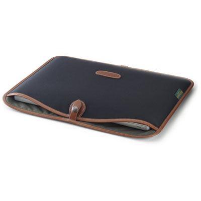 Image of Billingham 13 inch Laptop Slip - Black/Tan