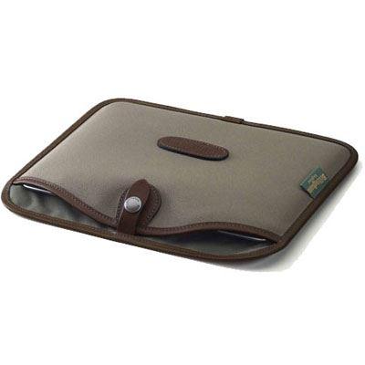 Billingham 13 inch Laptop Slip - Sage FibreNyte/Chocolate