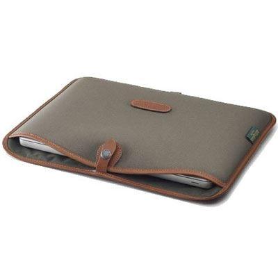 Image of Billingham 13 inch Laptop Slip - Sage FibreNyte/Tan