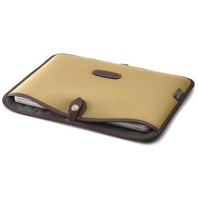 Billingham 13 inch Laptop Slip - Khaki FibreNyte/Chocolate
