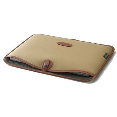 Billingham 15 inch Laptop Slip - Khaki/Tan