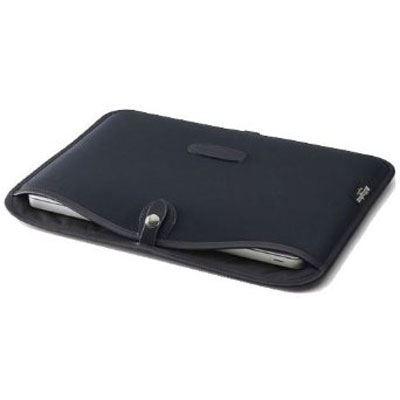 Billingham 15 inch Laptop Slip - Black/Black