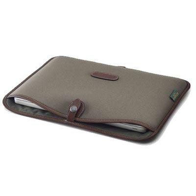 Billingham 15 inch Laptop Slip - Sage FibreNyte/Chocolate