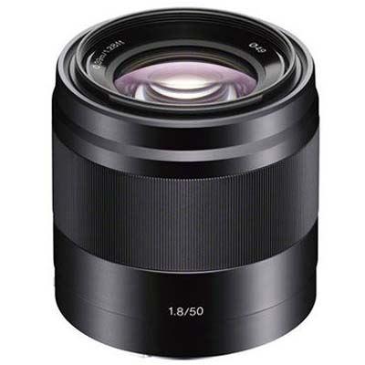 Sony E 50mm f1.8 OSS Lens Black