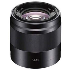 Sony E 50mm f1.8 OSS Lens Black