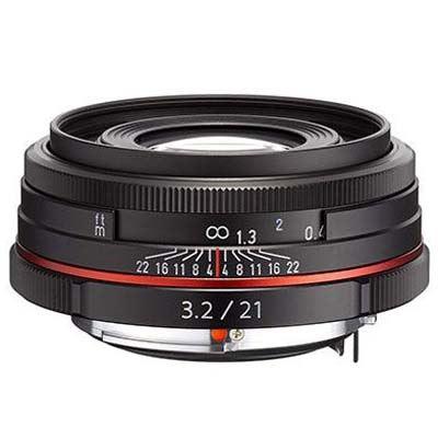 Image of Pentax 21mm f3.2 DA AL Limited Lens - Black