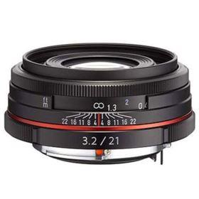 Pentax 21mm f3.2 AL Limited Lens - Black