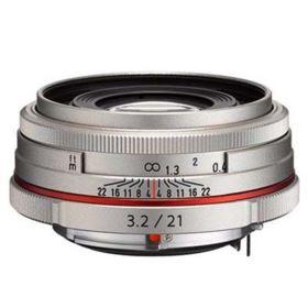 Pentax 21mm f3.2 AL Limited Lens - Silver