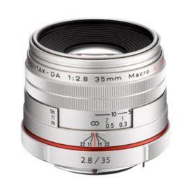 Pentax-DA HD 35mm f2.8 Macro Limited Lens - Silver