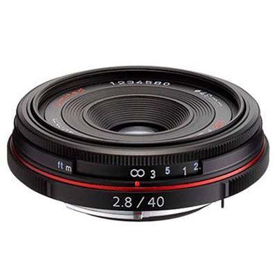 Image of Pentax 40mm f2.8 DA Limited Lens - Black