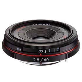 Pentax 40mm f2.8 DA Limited Lens - Black