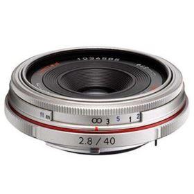 Pentax 40mm f2.8 DA Limited Lens - Silver