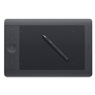 Wacom Intuos Pro Professional Creative Pen and Touch Graphic Tablet - Medium