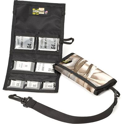 Image of LensCoat Combo 43 Memory Card Wallet - Realtree Advantage Max4 HD