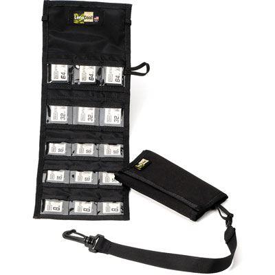 LensCoat SD15 Memory Card Wallet - Black