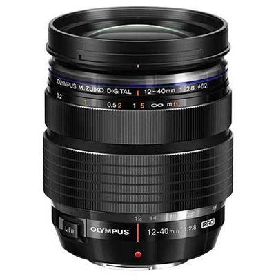 Image of Olympus 12-40mm f2.8 M.ZUIKO PRO Micro Four Thirds Lens - Black