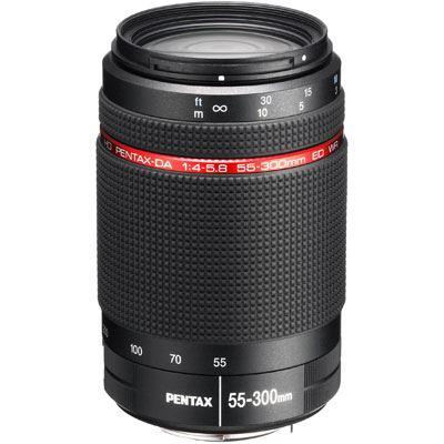 Pentax 55-300mm f4-5.8 ED WR DA Lens - Black