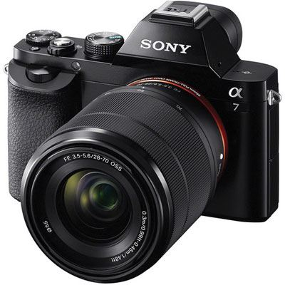 Sony Alpha A7 Digital Camera with 2870mm Lens