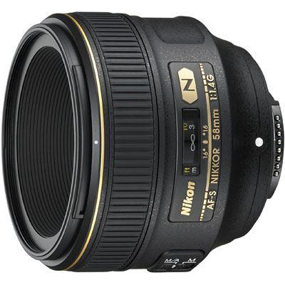 Nikon 58mm f1.4 G AF-S Lens
