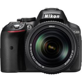 Nikon D5300 Digital SLR with 18-140mm VR Lens