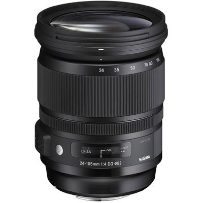 Sigma 24-105mm f4 DG HSM Lens - Sony Fit
