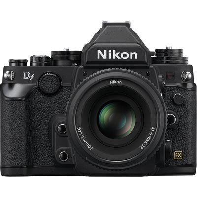 Used Nikon Df Digital SLR Camera with 50mm Lens – Black