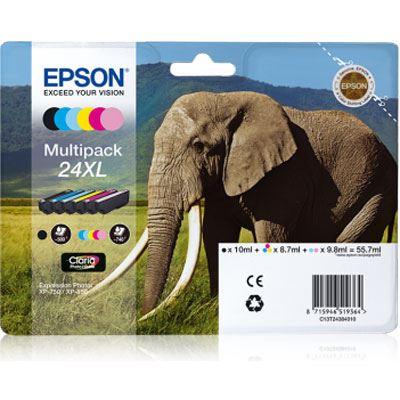 Epson 24XL Multipack 6Colours Claria Photo HD Ink Cartridge