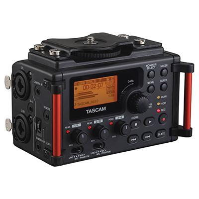 Image of Tascam DR-60D Mark II Linear PCM Recorder / Mixer For DSLR