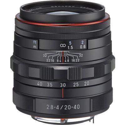 Image of Pentax 20-40mm f2.8-4 DA ED Limited DC WR Lens - Black