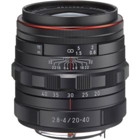 Pentax 20-40mm f2.8-4 DA ED Limited DC WR Lens - Black
