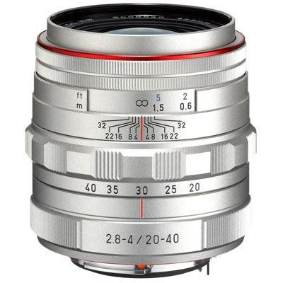 Image of Pentax 20-40mm f2.8-4 DA ED Limited DC WR Lens - Silver