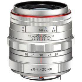 Pentax 20-40mm f2.8-4 DA ED Limited DC WR Lens - Silver