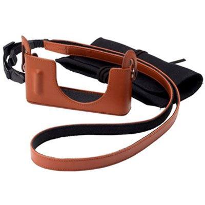 Fujifilm BLC-XQ1 Leather Half Case - Brown