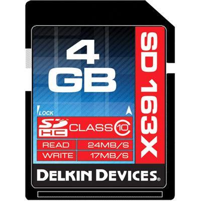 Delkin Pro 4GB SDHC Card