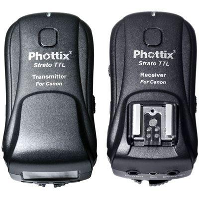 Phottix Strato TTL Wireless Flash Trigger Kit - Canon