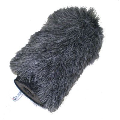 Image of Azden SWS-100 5 Inch High Performance Faux Fur Windscreen